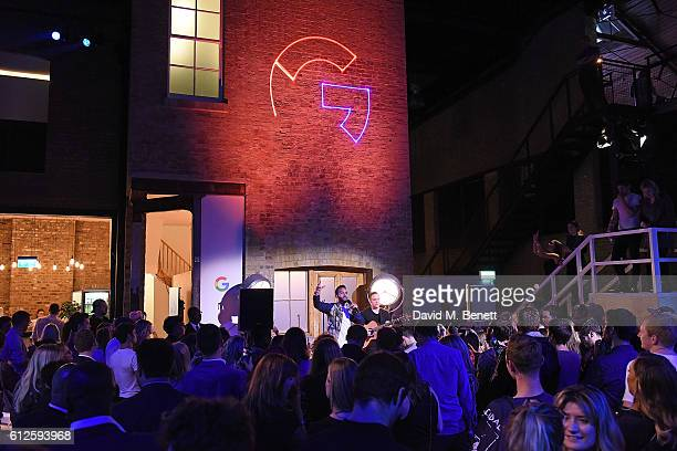 Craig David attends the launch of Google's new phone 'Pixel' with an exclusive live performance from Craig David in front of a starstudded audience...