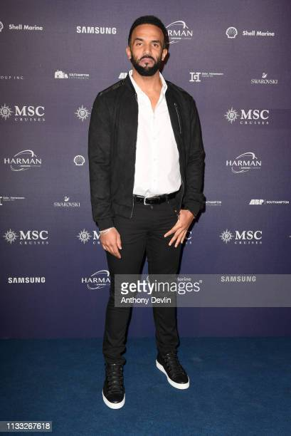 Craig David attends the MSC Bellissima Naming Ceremony on March 02 2019 in Southampton England