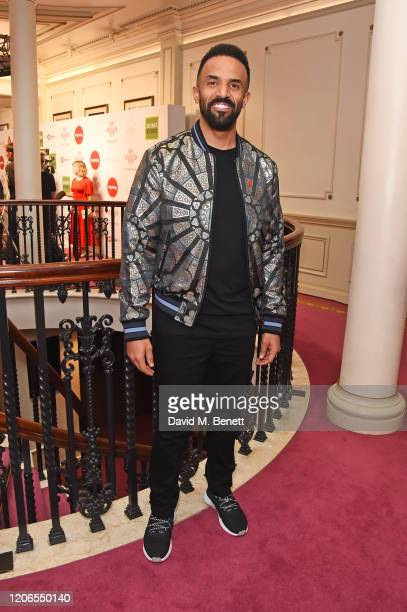 Craig David attends The Prince's Trust and TKMaxx Homesense Awards at The London Palladium on March 11 2020 in London England