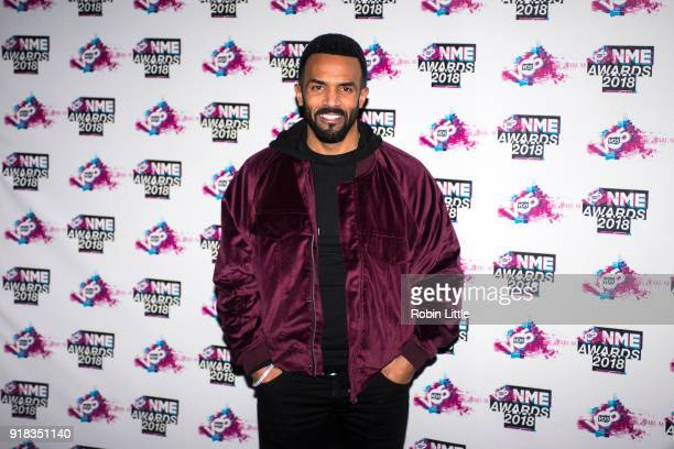 Craig David attends the VO5 NME Awards held at Brixton Academy on February 14 2018 in London England