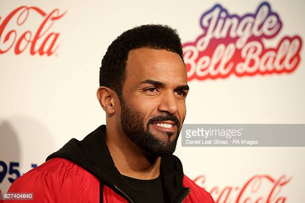 Craig David during Capital's Jingle Bell Ball with CocaCola at London's O2 arena PRESS ASSOCIATION Photo Picture date Saturday 3rd December 2016...