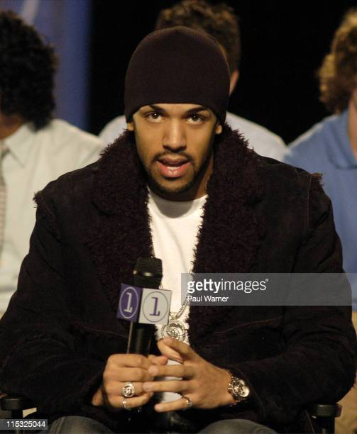 Craig David during Craig David at Channel 1 Interview and Concert at Adrian High School in Adrian Michigan United States