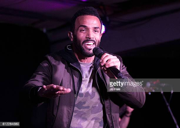 Craig David Meets Fans And Performs Songs From His New Album 'Following My Intuition' at HMV Oxford Street on October 3 2016 in London England