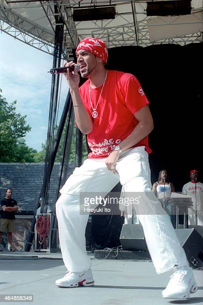 Craig David performing at Central Park Summerstage on Sunday afternoon July 22 2001
