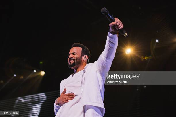 Craig David performs at First Direct Arena on March 31 2017 in Leeds United Kingdom