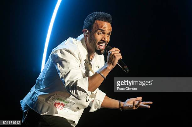 Craig David performs at MOBO Awards show at The SSE Hydro on November 4 2016 in Glasgow Scotland
