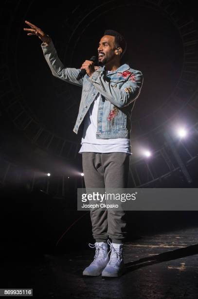 Craig David performs at O2 Academy Brixton on November 3 2017 in London England