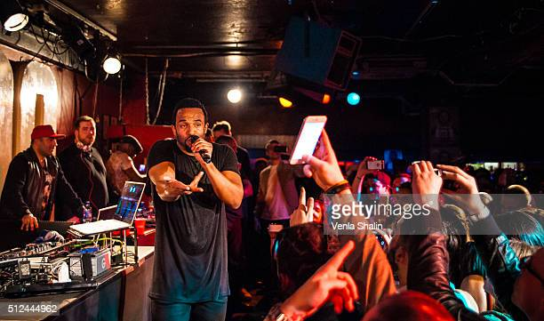 Craig David performs at The 100 Club on February 24 2016 in London England