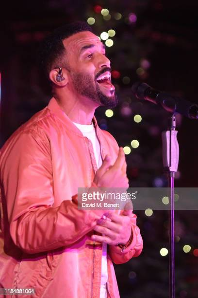 Craig David performs at The Fayre Of St James's Christmas Carol Concert hosted by Quintessentially Foundation and The Crown Estate at St James'...