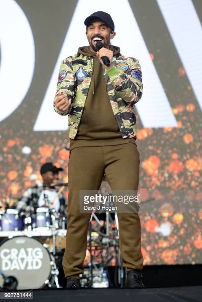 Craig David performs during day 1 of BBC Radio 1's Biggest Weekend 2018 held at Singleton Park on May 26 2018 in Swansea Wales
