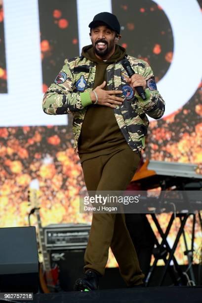 Craig David performs during day 1 of BBC Radio 1's Biggest Weekend 2018 held at Singleton Park on May 26 2018 in Swansea Wales