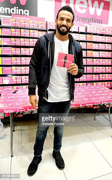 Craig David performs live and signs copies of his new album 'Following My Intuition' at HMV Manchester on October 5 2016 in Manchester England