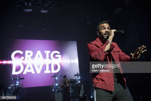 Craig David performs live on stage at The Mayflower Theatre on September 1 2017 in Southampton England