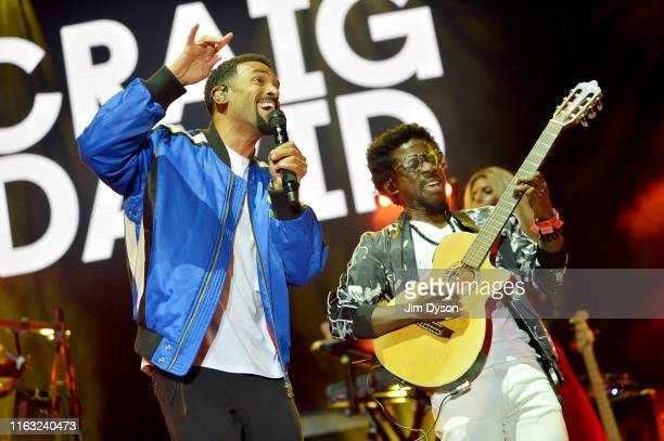 Craig David performs live on stage during the second day of Penn Fest at The Big Park on July 20 2019 in Penn Street Buckinghamshire