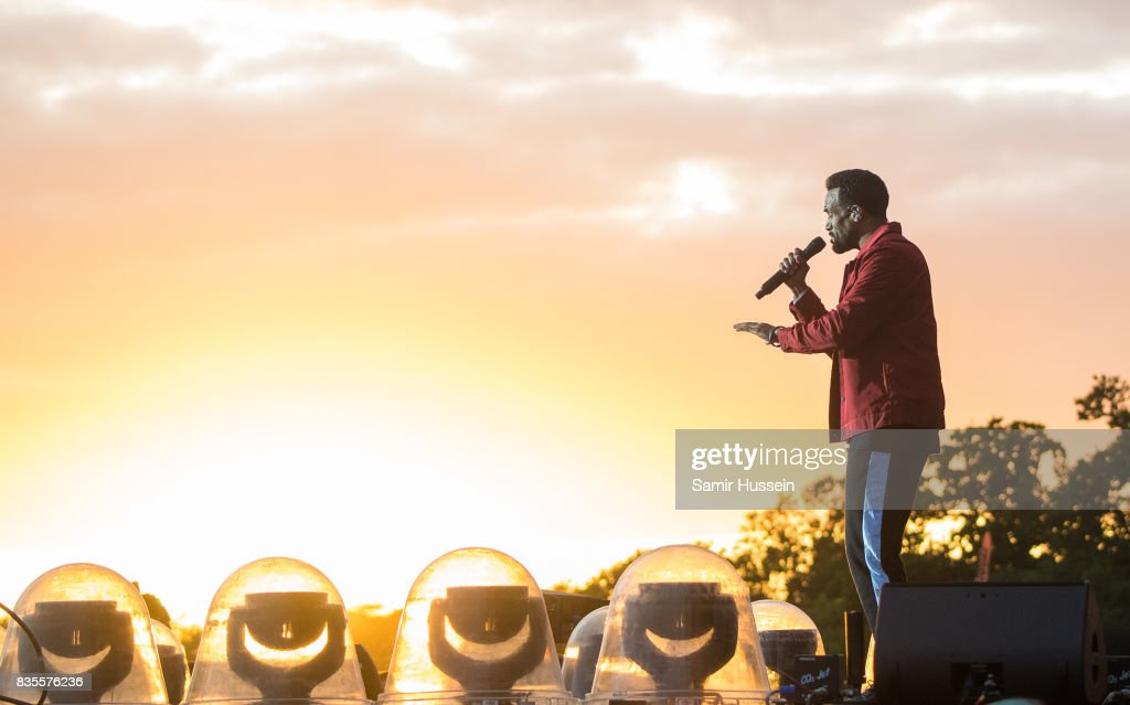 Craig David performs live on stage during V Festival 2017 at Hylands Park on August 19, 2017 in Chelmsford, England.