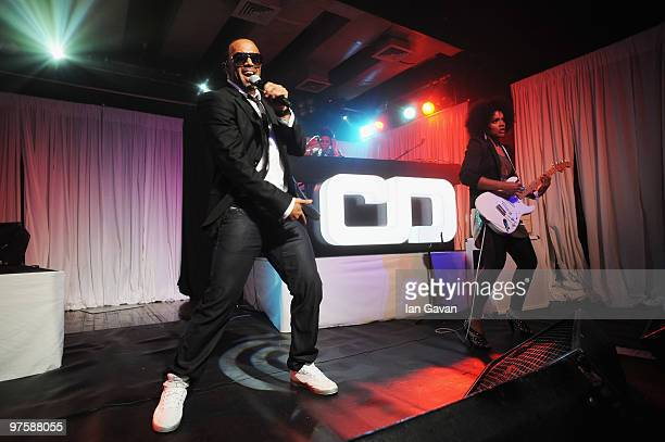 Craig David performs live to promote his new album 'Signed Sealed Delivered' at Scala on March 9 2010 in London England