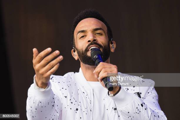 Craig David performs on day 3 of the Glastonbury Festival 2017 at Worthy Farm Pilton on June 24 2017 in Glastonbury England