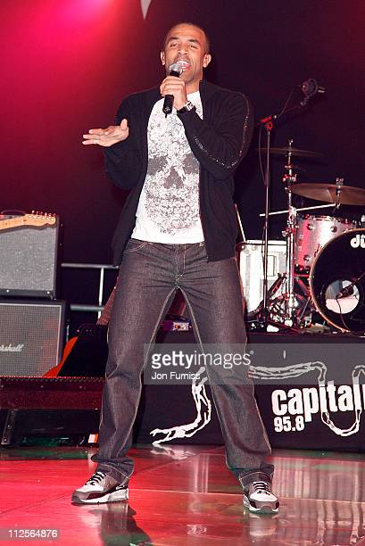 Craig David performs on stage during Capital Rocks in association with Capital Radio and the charity Help a London Child held at the Battersea...