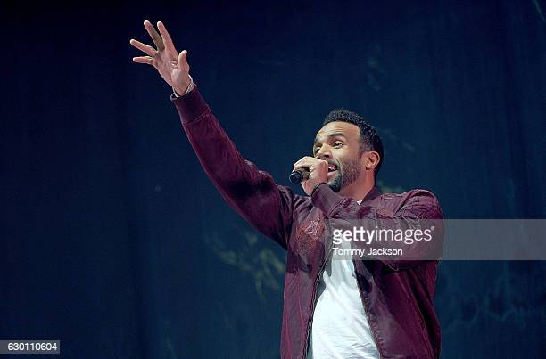 Craig David performs on stage during Metro Radio Christmas Live at Metro Radio Arena on December 16 2016 in Newcastle upon Tyne England