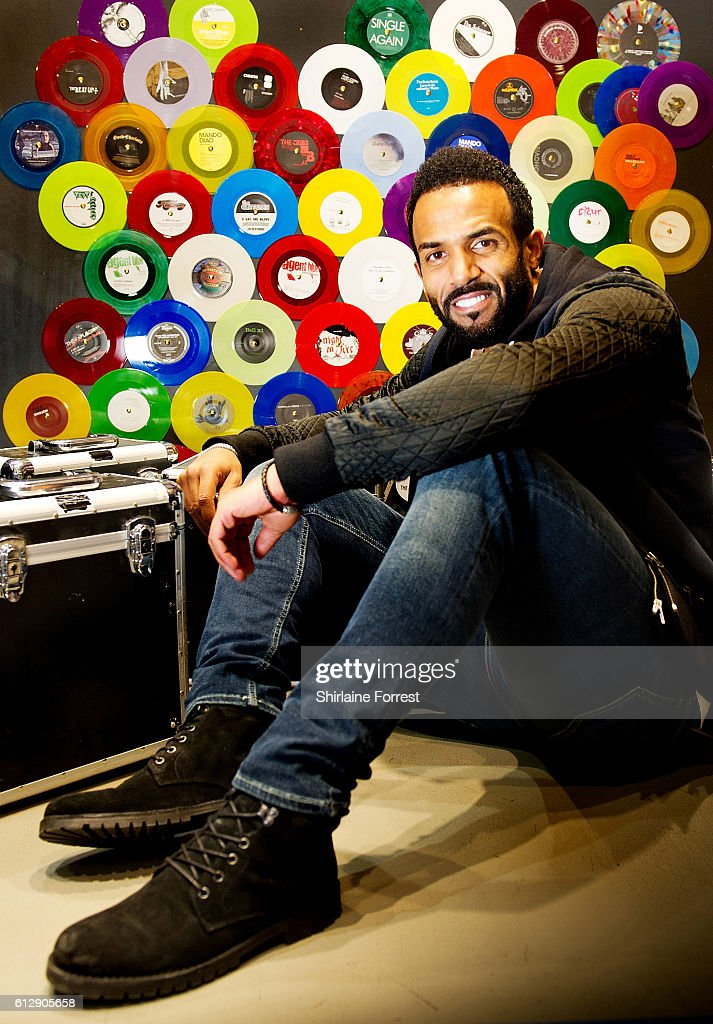 Craig David Performs Live & Sign Copies Of His New Album 'Following My Intuition'