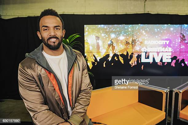 Craig David poses backstage at Radio City Christmas Live at Echo Arena on December 17 2016 in Liverpool England