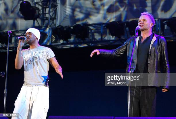 Craig David Sting during 1027 KIIS FM's Wango Tango 2003 The Ultimate Reality Show at Rose Bowl Stadium in Pasadena California United States