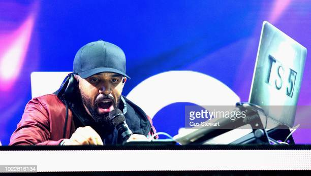 Craig David TS5 headlines the second stage at RiZE Festival on August 17, 2018 in Chelmsford, United Kingdom.