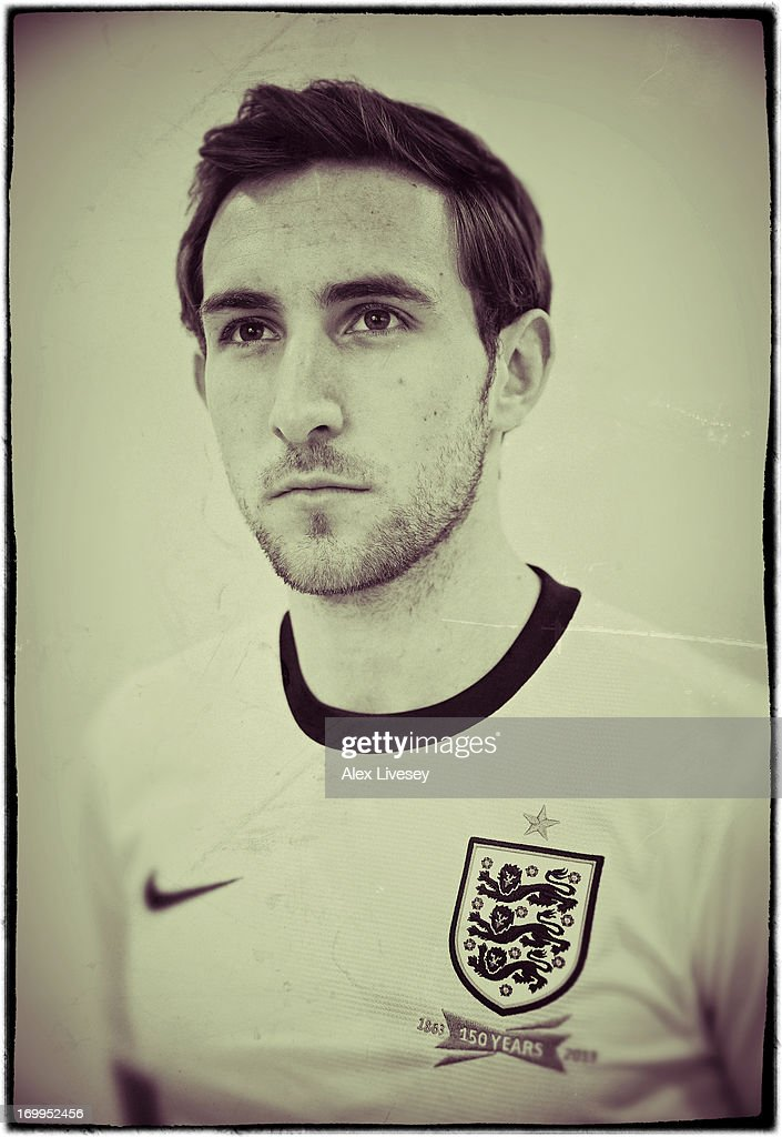Craig Dawson of England Under-21s poses for a portrait at St Georges Park on March 19, 2013 in Burton-upon-Trent, England.