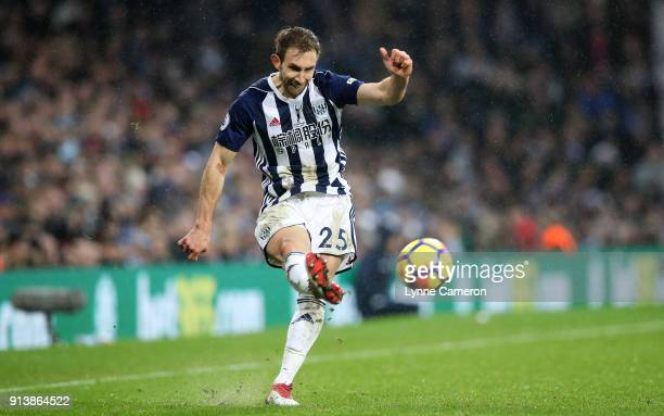 Craig Dawson of West Bromwich Albion during the Premier League match between West Bromwich Albion and Southampton at The Hawthorns on February 3 2018...