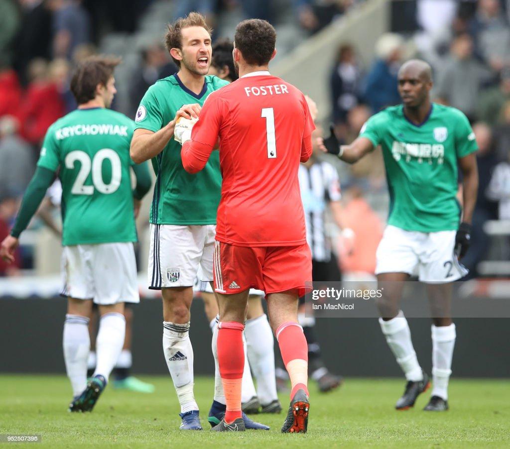 Newcastle United v West Bromwich Albion - Premier League : News Photo