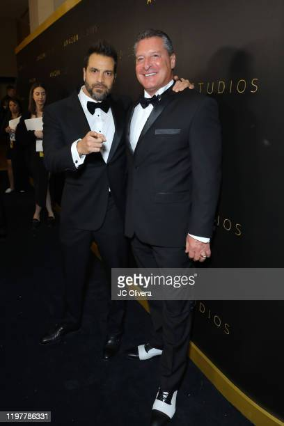 Craig DiFrancia and Larry Mazza attend the Amazon Studios Golden Globes After Party at The Beverly Hilton Hotel on January 05, 2020 in Beverly Hills,...