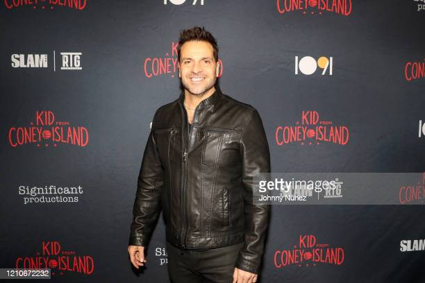 """Craig DiFrancia attends the premiere of """"A Kid From Coney Island"""" at Brooklyn Academy of Music on March 05, 2020 in New York City."""