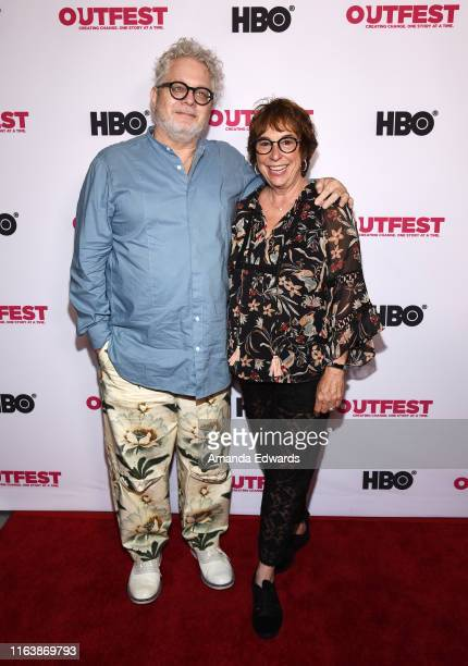 Craig Dorfman and Suzi Dietz arrive at the 2019 Outfest Los Angeles LGBTQ Film Festival World Premiere of HAM A Musical Memoir at the TCL Chinese...