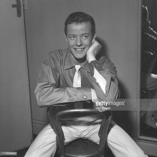 Craig Douglas posed backstage at NME Poll Winners' Concert 20 February 1960
