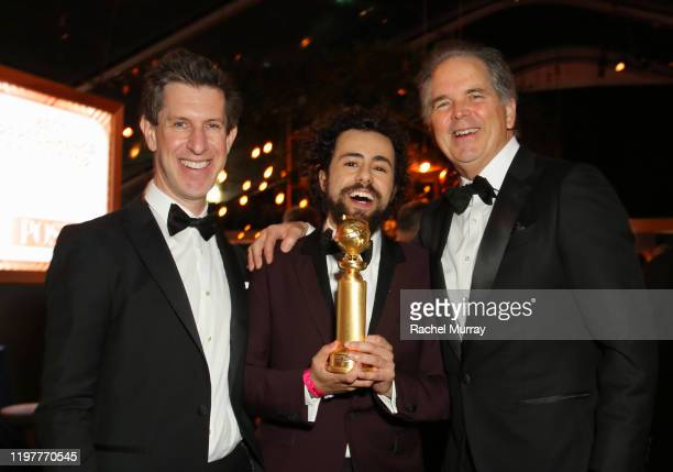 Craig Erwich SVP of Scripted Originals for Hulu actor Ramy Youssef Golden Globe winner for Best Performance by an Actor in a Television Series...
