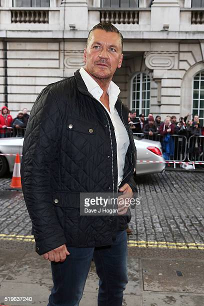 Craig Fairbrass arrives for the UK premiere of 'Criminal' at The Curzon Mayfair on April 7 2016 in London England