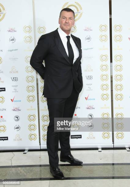 Craig Fairbrass attends the National Film Awards UK at Portchester House on March 28 2018 in London England