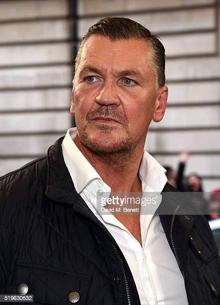 Craig Fairbrass attends the UK Premiere of 'Criminal' at The Curzon Mayfair on April 7 2016 in London England