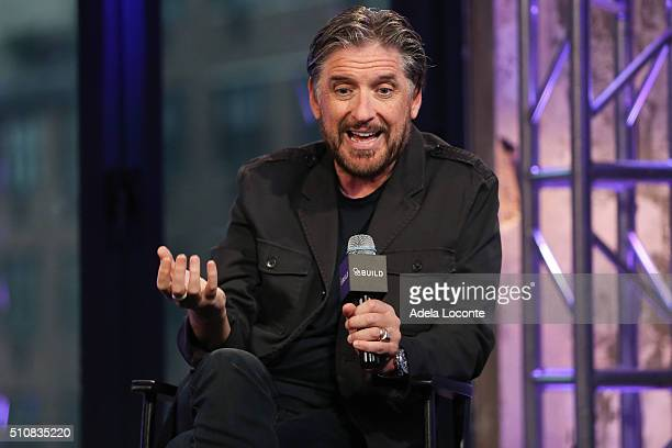Craig Ferguson discusses Join or Dieat AOL Studios In New York on February 17 2016 in New York City