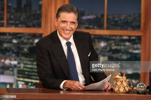 Craig Ferguson on the CBS' THE LATE LATE SHOW WITH CRAIG FERGUSON scheduled to air on July 15 2013 the CBS Television Network