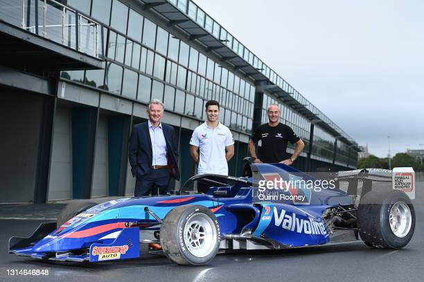 Craig Fletcher, Australian Grand Prix Corporation, General Manager of Motorsport, Entertainment and Industry, S5000 Driver James Golding and Barry...