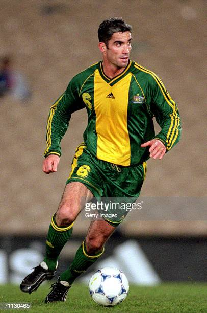 Craig Foster of the Socceroos in action during the Soccer International friendly match between the Socceroos and Paraguay at Olympic Park June 15,...