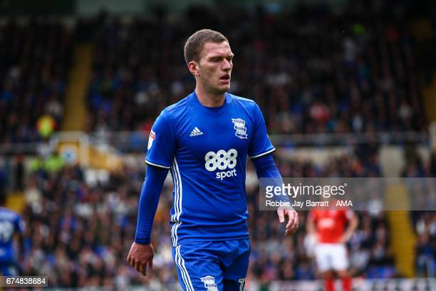 Craig Gardner of Birmingham City during the Sky Bet Championship match between Birmingham City and Huddersfield Town at St Andrews on April 29, 2017...