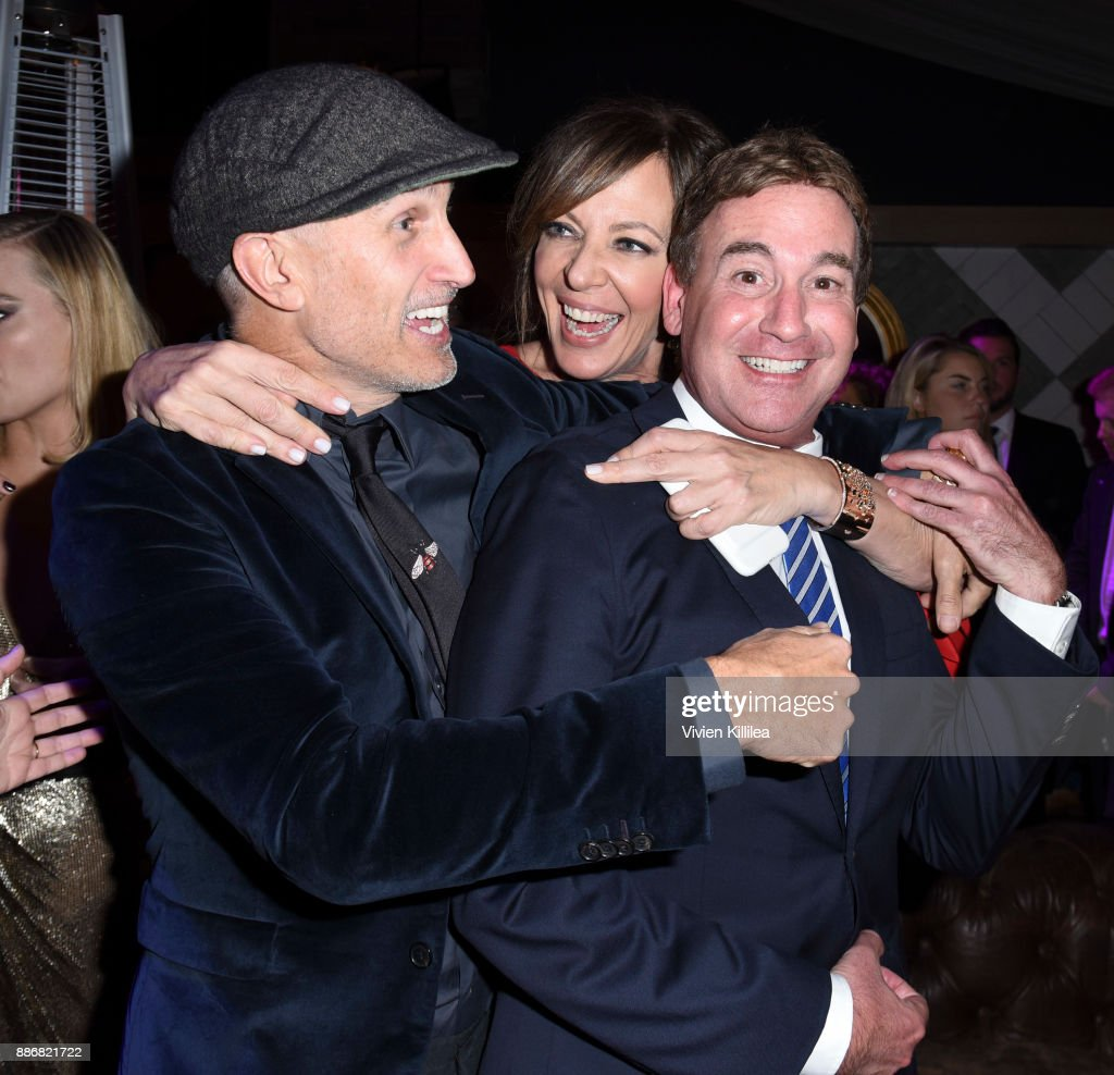 Craig Gillespie, Allison Janney and Steven Rogers attend NEON and 30WEST Present the Los Angeles Premiere of 'I, Tonya' Supported By Svedka on December 5, 2017 in Los Angeles, California.