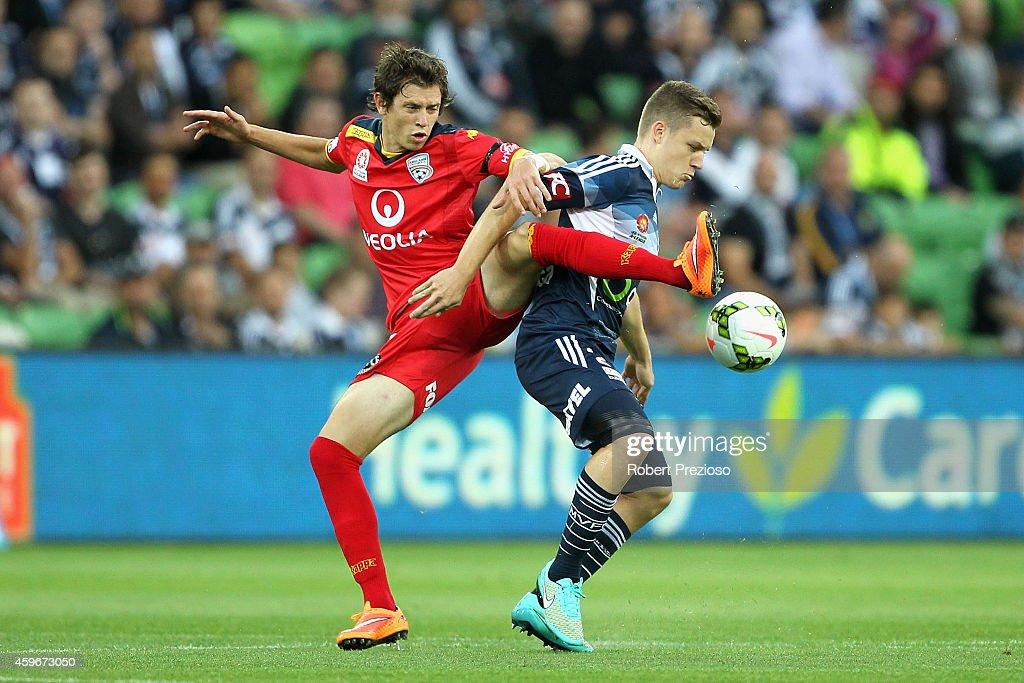 A-League Rd 8 - Melbourne v Adelaide