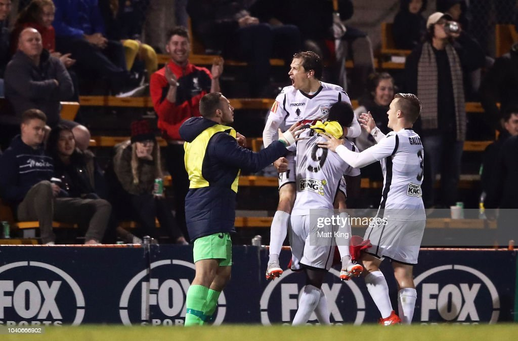 FFA Cup Quarter Final - APIA Leichhardt Tigers v Adelaide United : News Photo