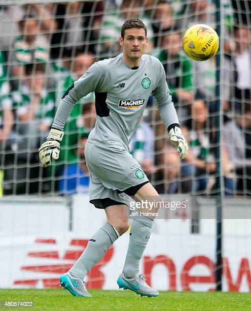 Craig Gordon of Celtic at the Pre Season Friendly between Celtic and Real Sociedad at St Mirren Park on July 10th 2015 in Paisley Scotland