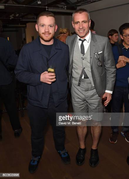Craig Green and Thom Browne attend The Art Of Curating Fashion with Andrew Bolton presented by Sarabande The Lee Alexander McQueen Foundation on June...