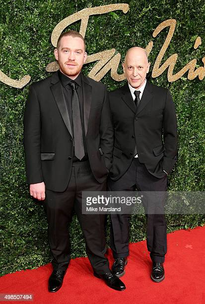 Craig Green attends the British Fashion Awards 2015 at London Coliseum on November 23 2015 in London England