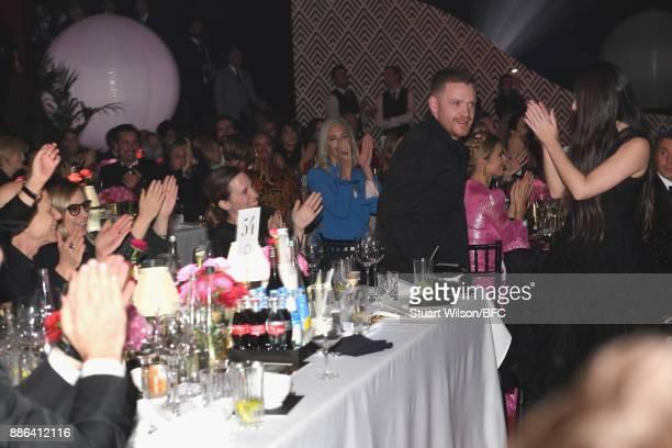 Craig Green winner of the British Designer of the Year Menswear award during The Fashion Awards 2017 in partnership with Swarovski at Royal Albert...